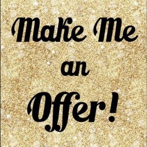 Other - Reasonable offers accepted  !!!